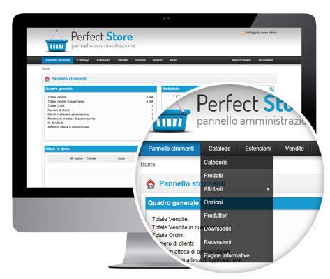 creare un sistema di vendita online di prodotti