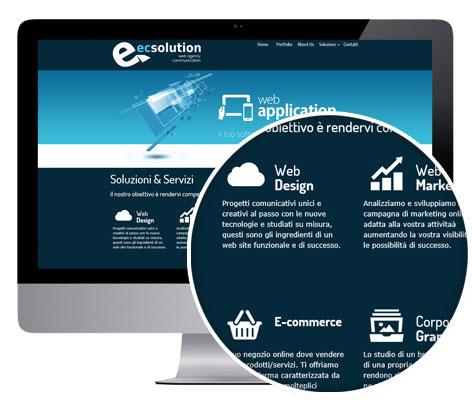 realizzazione di siti internet personalizzati